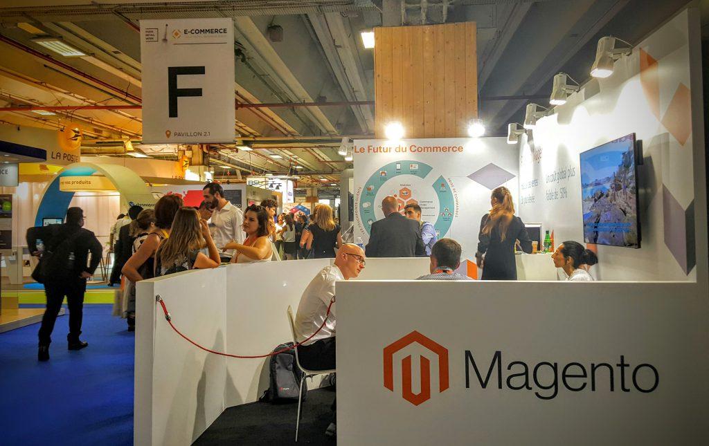 E-Commerce Paris Magento Booth