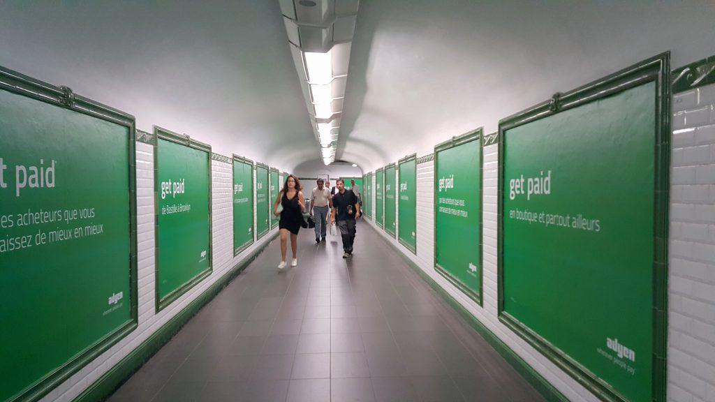 Adyen advertising at E-Commerce Paris 2016