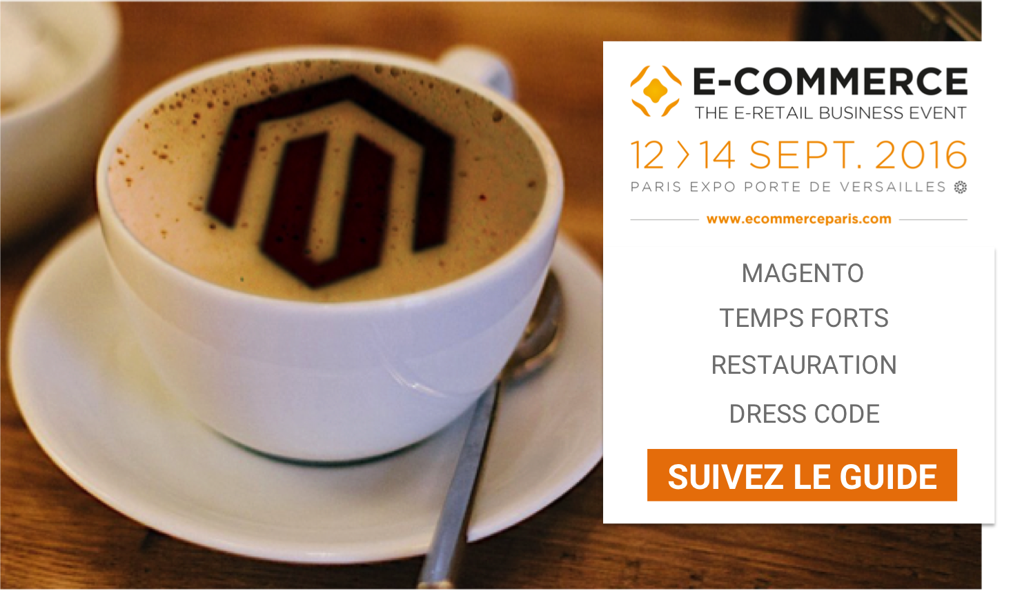 Le guide magento du salon e commerce paris porte de for Salon e commerce paris 2017