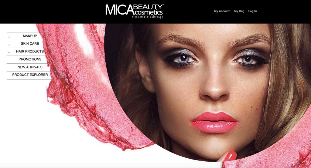 Mica Beauty a Dubai Magento store