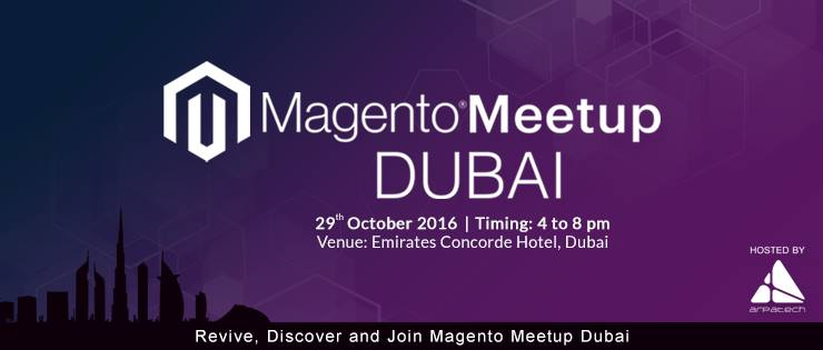 Magento Meet Up Dubai 2016