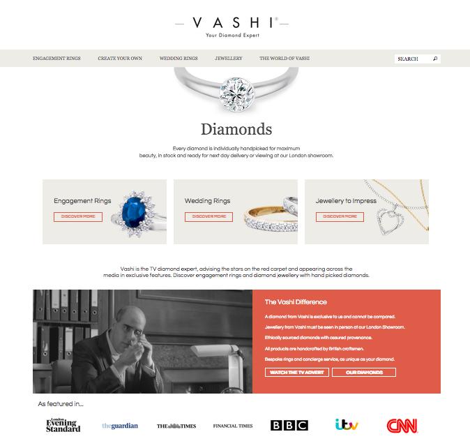 eCommerce jewelry