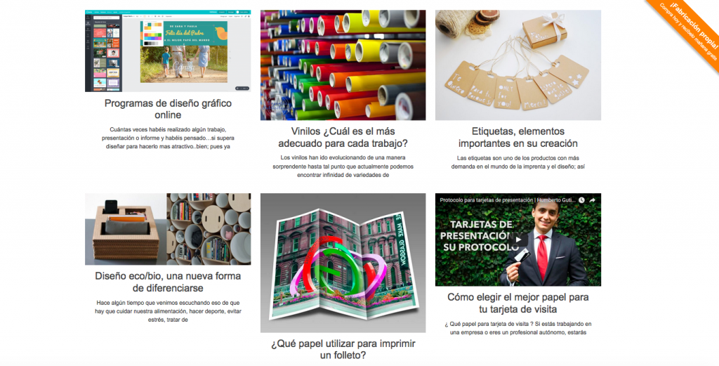 Magento case study printing business spain