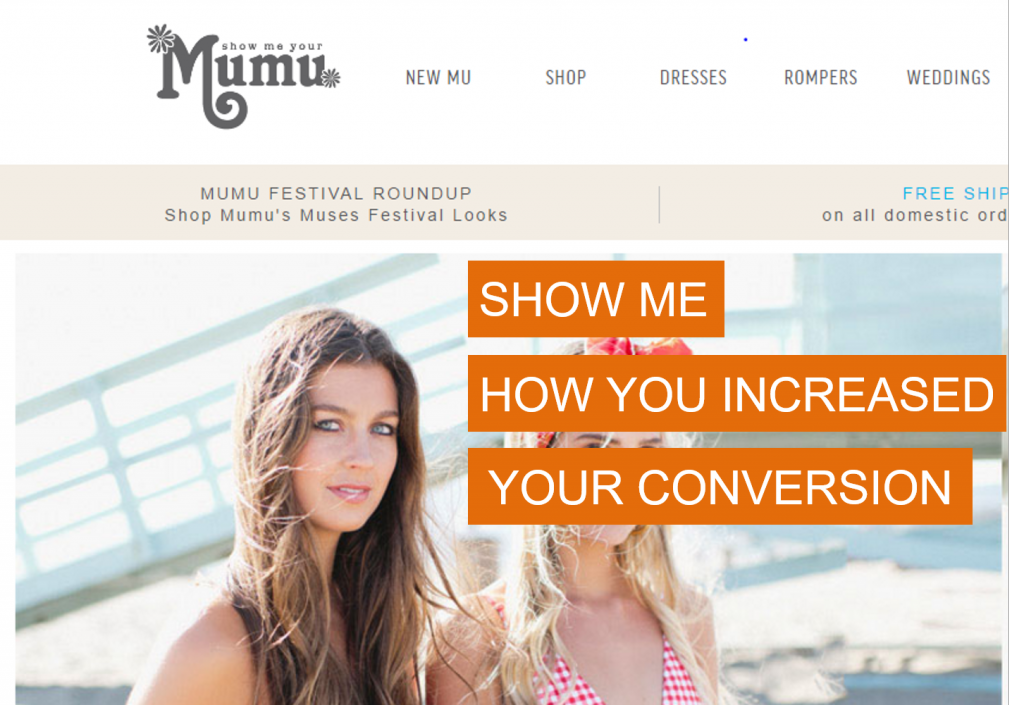 Show Me Your Mumu case study