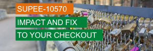 Magento supee-10570 issue in your checkout and fix