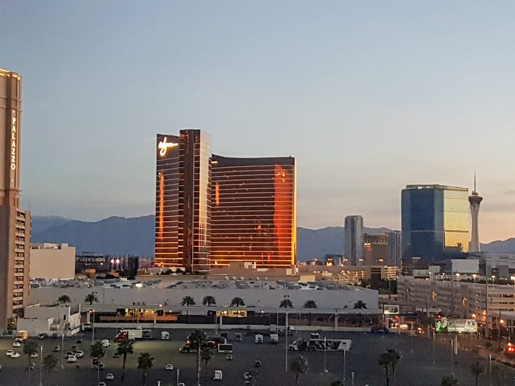 View of the Wynn from the Westin Las Vegas