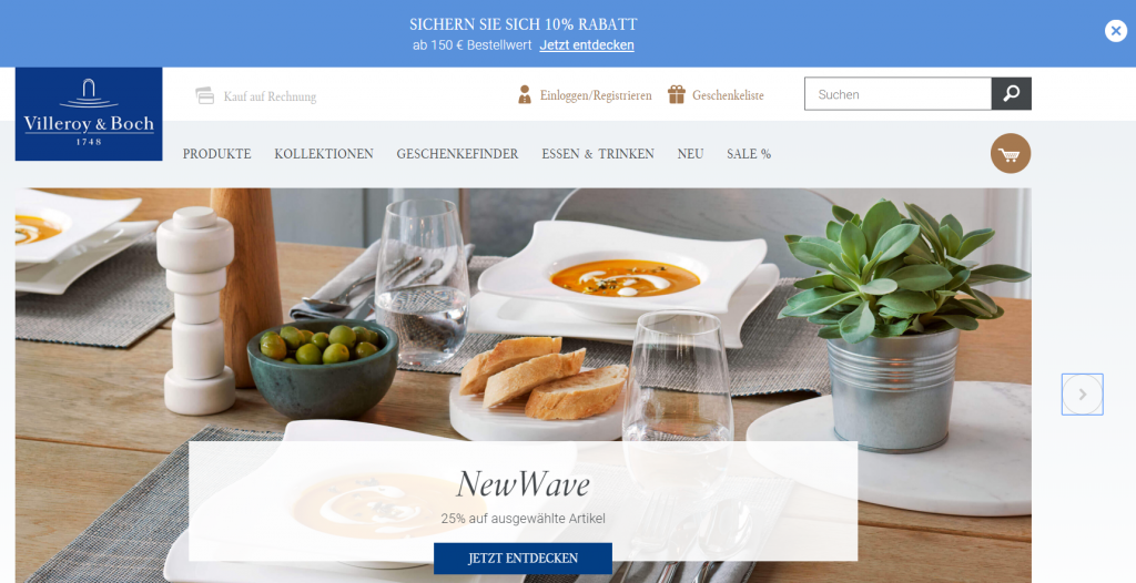 villeroy boch shop Magento Germany 2018