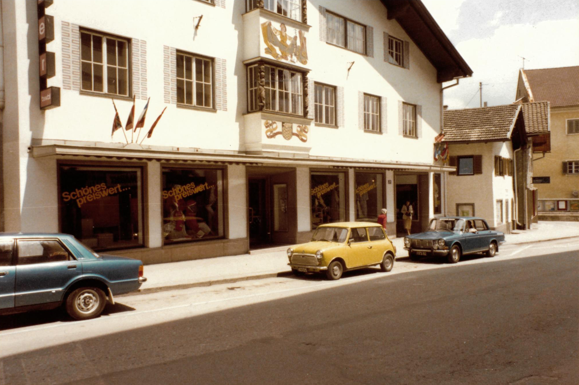 Luxury retailer in the 70's
