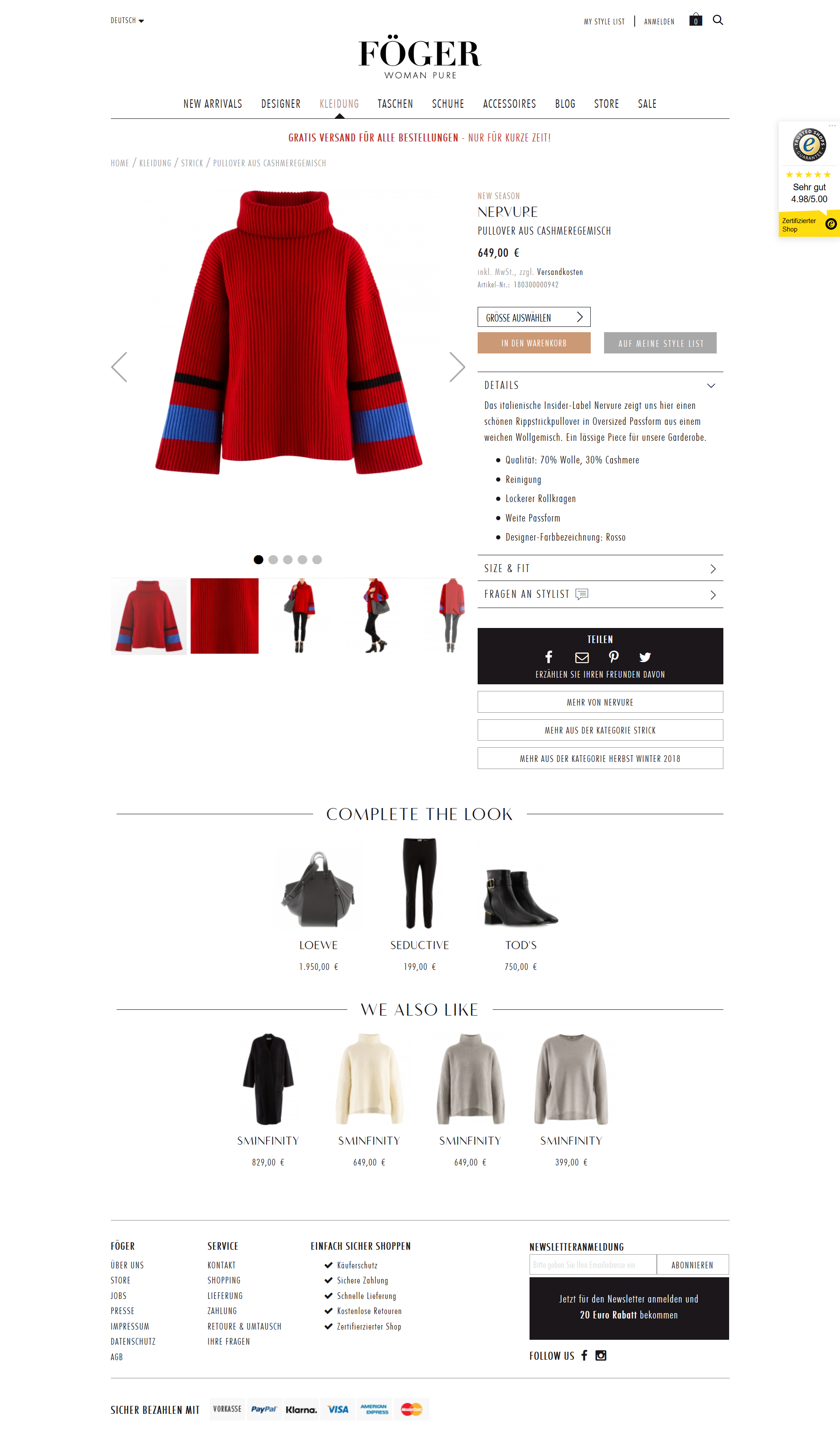 Magento 2 Case Study Fashion and Luxury goods