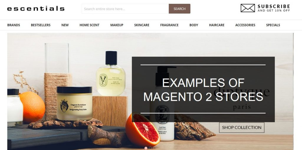 examples of Magento 2 stores running OneStepCheckout