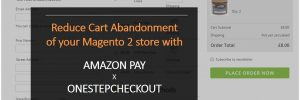 Amazon Pay and OneStepCheckout for Magento 2