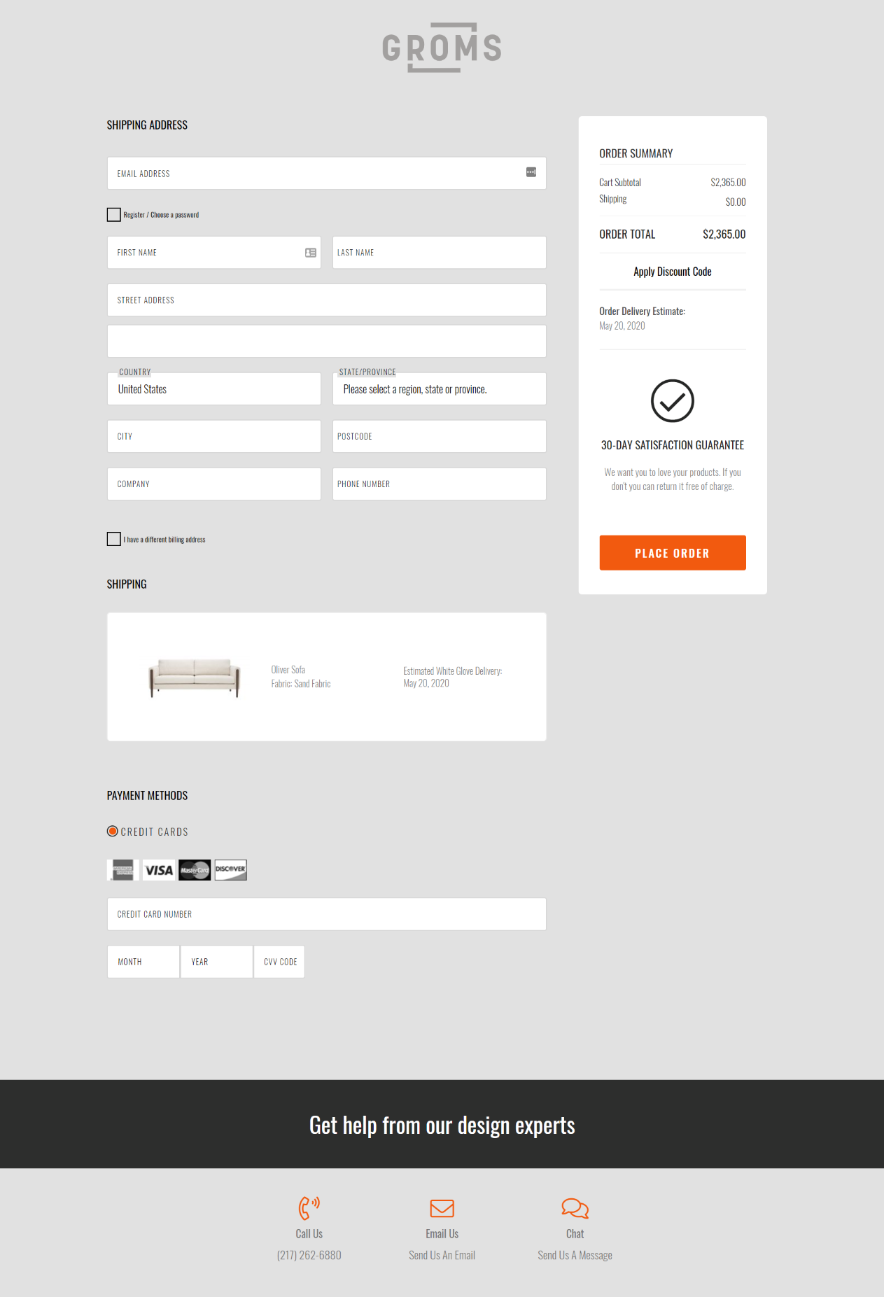 Groms Checkout powered by OneStepCheckout for Magento 2
