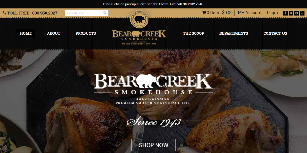 Bear creek smokehouse Magento 2