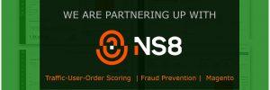 Ns8 partnership Fraud Prevention Magento