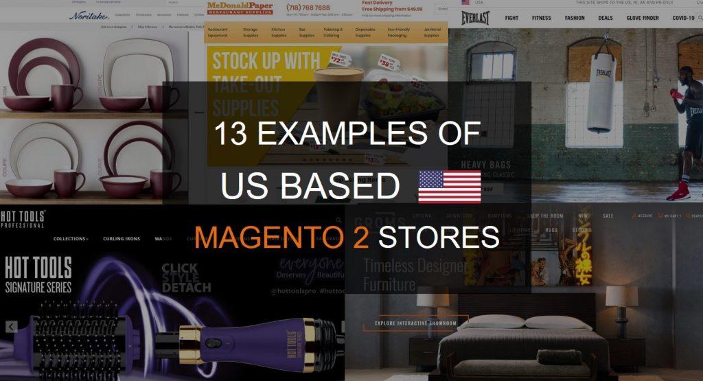 US Magento 2 stores