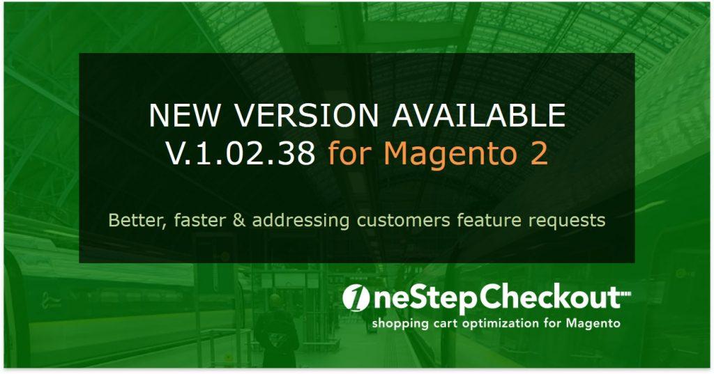 v10238 new release OneStepCheckout for MAgento 2