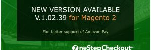 One Page Checkout for Magento 2 new version release
