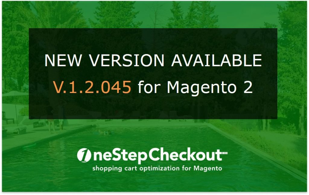 One Page Checkout plug in for Magento 2